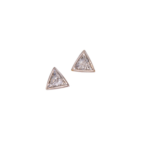 Trilliant Diamond Earrings