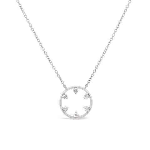 Starwheel Diamond Necklace