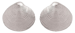 Quahog Shell Earrings
