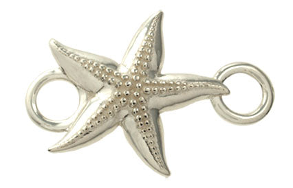 Silver Knobby Starfish Bracelet Top