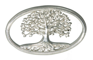 Silver Tree of Life Bracelet Top
