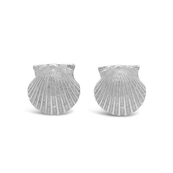 Scallop Shell Cufflinks