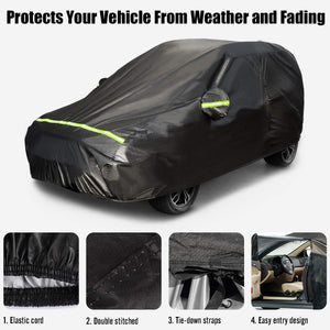 Favoto Car Cover SUV Cover Universal Fit 188 inch to 198 inch