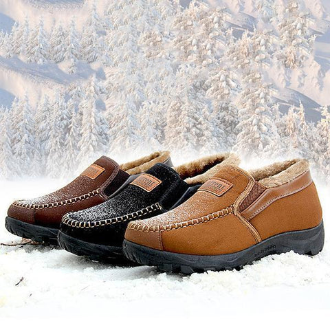 Winter Non-Slip Mens Casual Warm Snow Boots