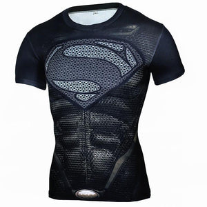 Men's Fitness Quick-Drying Tight Short-Sleeved Shirt