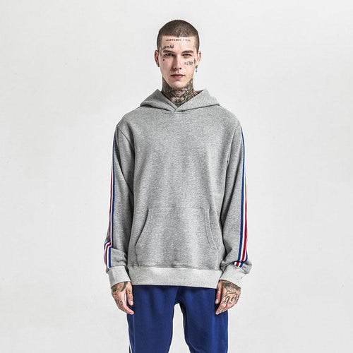 Fashion Loose Color Blocking Hoodie