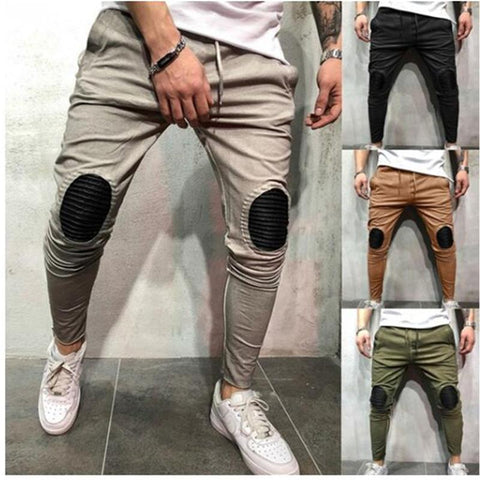 Men's Hip Hop Fashion Style Casual Fitness Pants Feet Pants