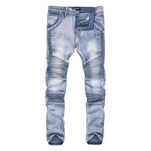 New Fashion Washed Slim-fit Jeans