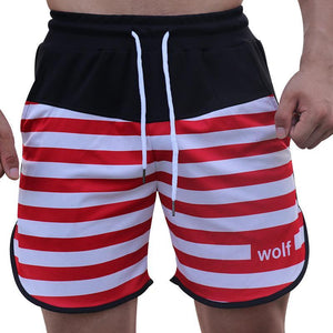 Fashion Mens Sport Loose Print Short Pants
