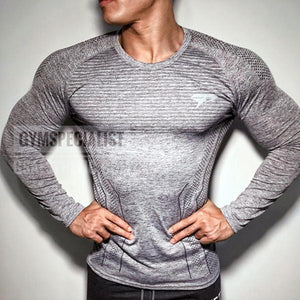Fitness Mesh Breathable Tight Training T-Shirt