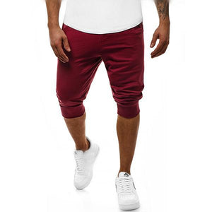 Men's Fashion Solid Color Sports Shorts