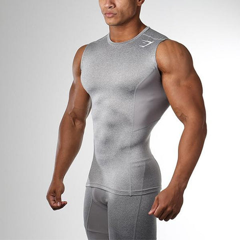 Fitness Fashion Solid Color Tight Training Tank
