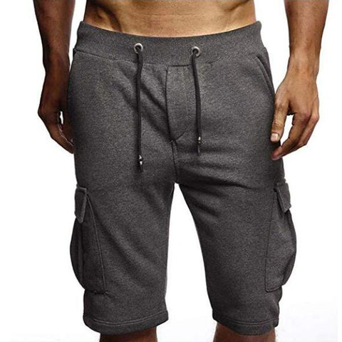 Summer Men's Simple Multi-Pocket Sports Casual Shorts