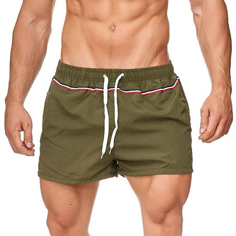 Fitness Men's Fashion Solid Color Training Shorts