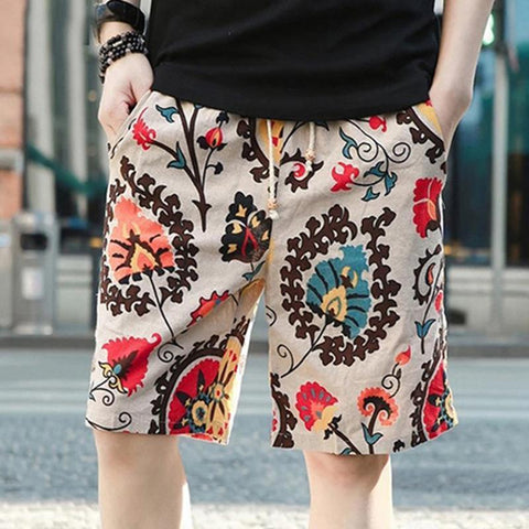 Breathable Comfort Casual Men's Linen Shorts