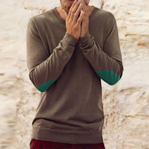 Men's Fashion Round Neck Long Sleeve Sweater