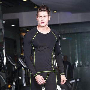 Men's Quick-Drying Breathable Long-Sleeved Top