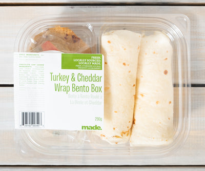 Bento Box- Turkey and Cheddar Wrap