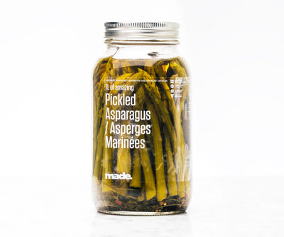 Pickled Local Asparagus