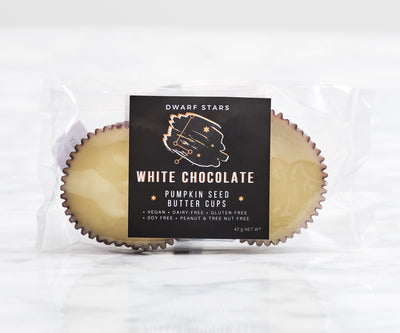 Dwarf Stars - White Chocolate Pumpkin Seed Butter Cups