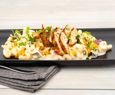 Blackened Chicken Mac & Cheese