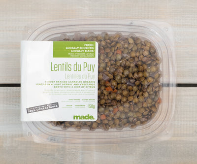 Marinated Du Puy Lentils