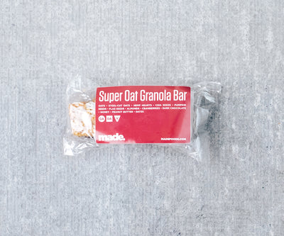 Super Oat Granola Bar