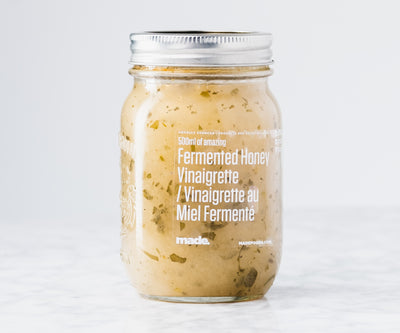 Fermented Honey Vinaigrette