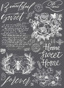 "Redesign Decor Transfer - Beautiful Home 24""x34″ - (Retired)"