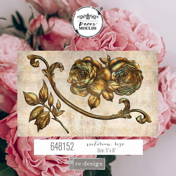 Redesign Décor Moulds® - Victorian Rose - Size 5x8