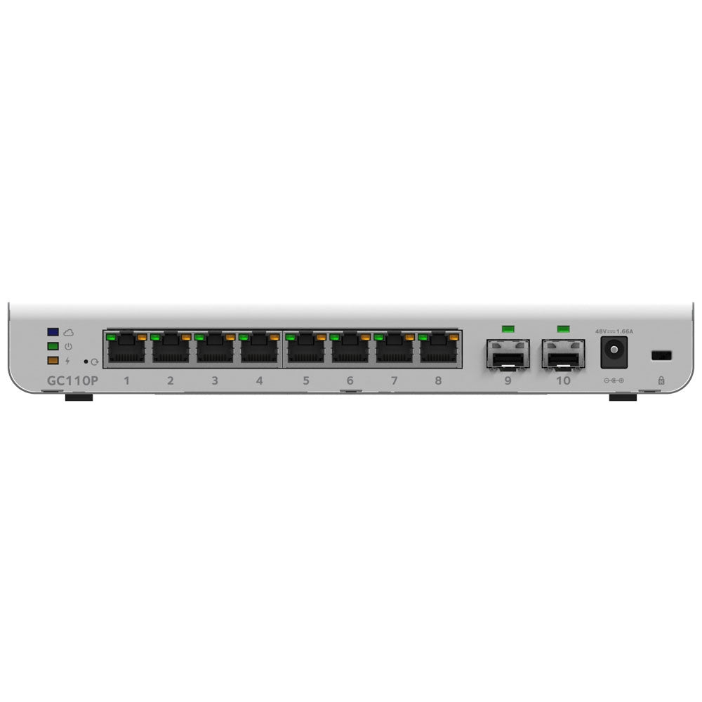 <b>NETGEAR</b> GC110P<br> Insight 網管8 端口千兆PoE (62W)<br>送1年Insight Pro