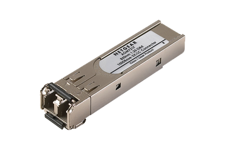 <b>NETGEAR AGM731F</b><br> 1000Base-SX SFP Module, LC (up to 550m)