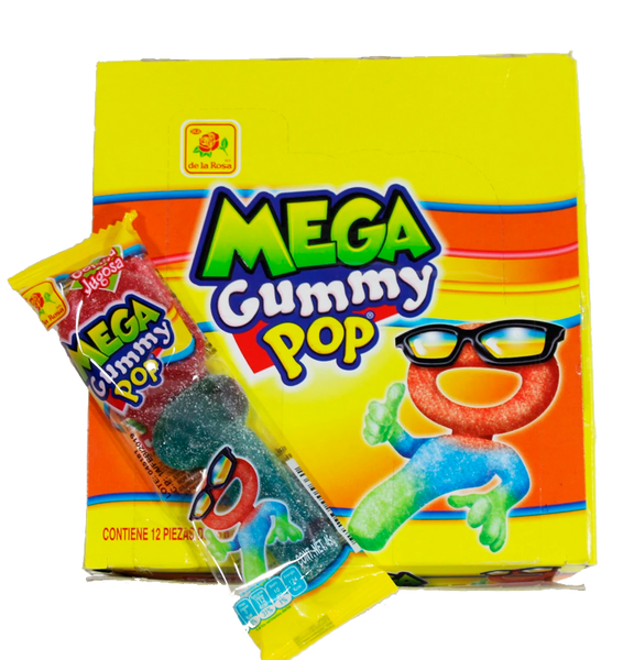 De la Rosa Mega Gummy Pop 16/12
