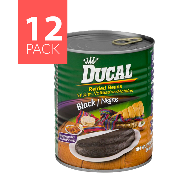 Ducal  R/F Black Beans 12/29oz