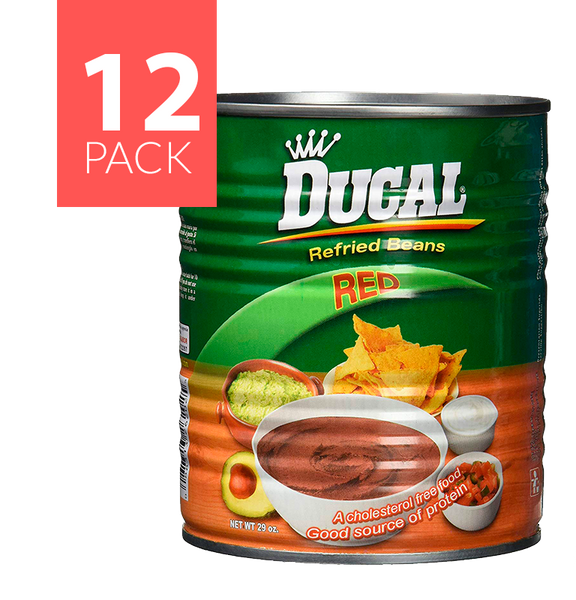 Ducal R/F Red Beans 12/29oz