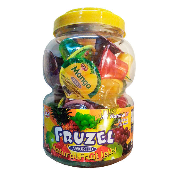 Fruzel Assorted Jelly 6/38