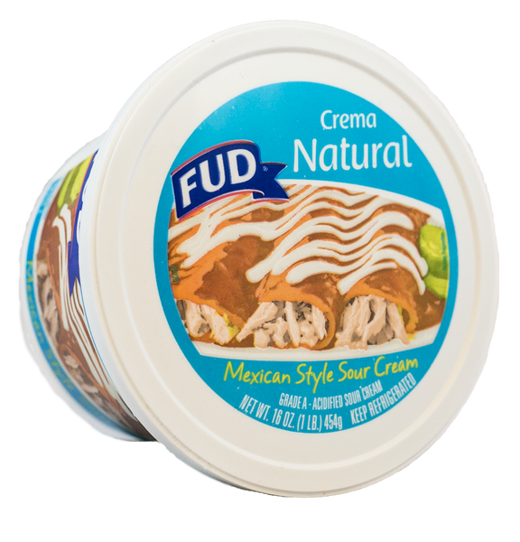 Fud Crema Natural 12/16 oz