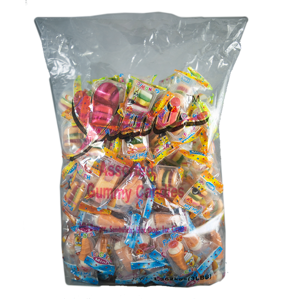 Fun Fun Assorted Gummies 6/3Lbs
