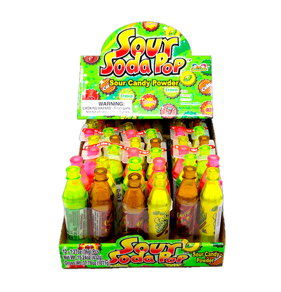 Kids Mania Sour Soda Pop