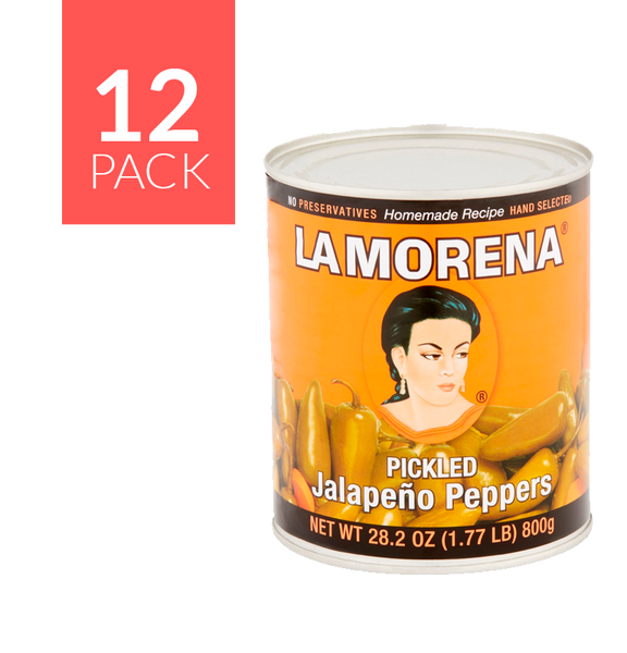 La Morena Pickled Jalapeño 12/28.2 oz