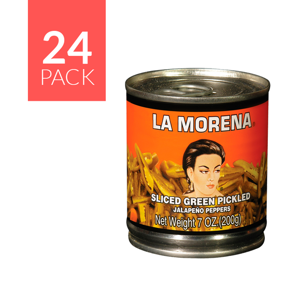 La Morena Pickled Jalapeño 24/7 oz