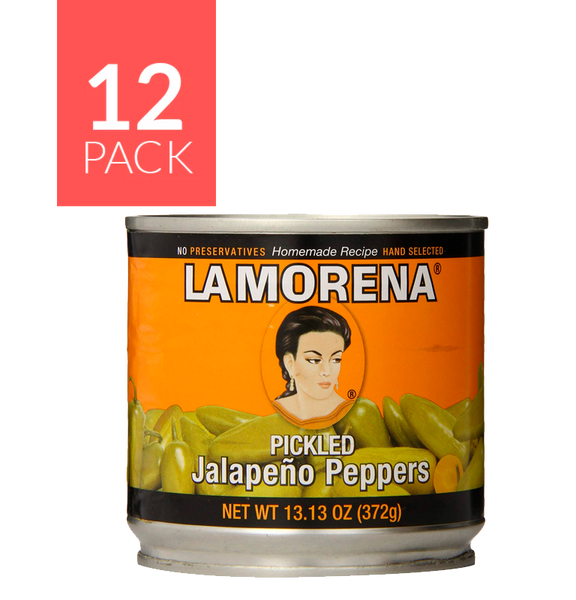 La Morena Whole Jalapeño 12/13