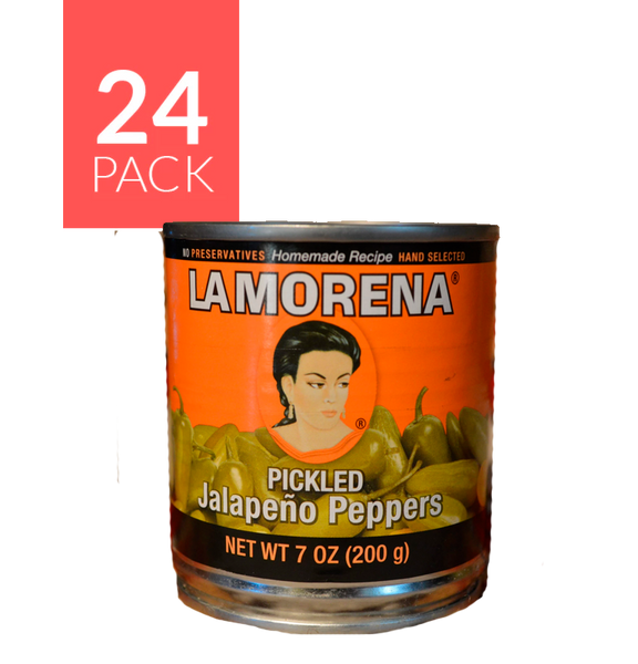 La Morena Whole Jalapeño  24/7