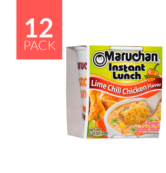 Maruchan Chile/Lime Chicken 12/2.25 oz