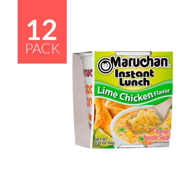 Maruchan Lime Chicken 12/2.25 oz