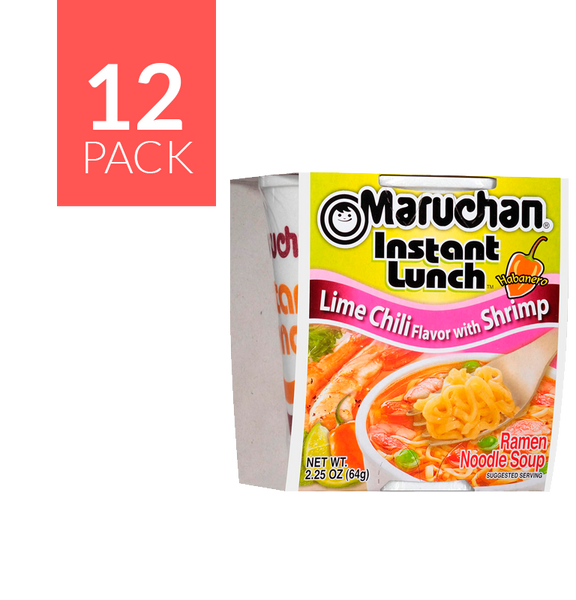 Maruchan Shrimp Chile/Limon 12/2.25