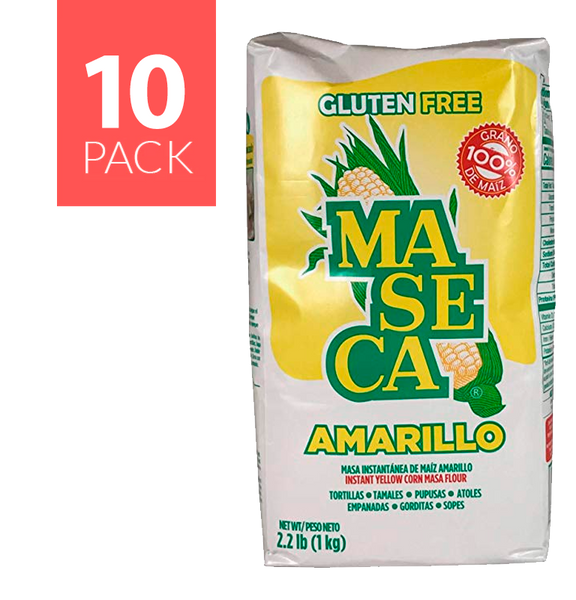 Maseca Yellow Corn 10/2.2 Lbs