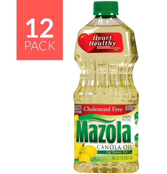 Mazola Canola Oil 12/40oz