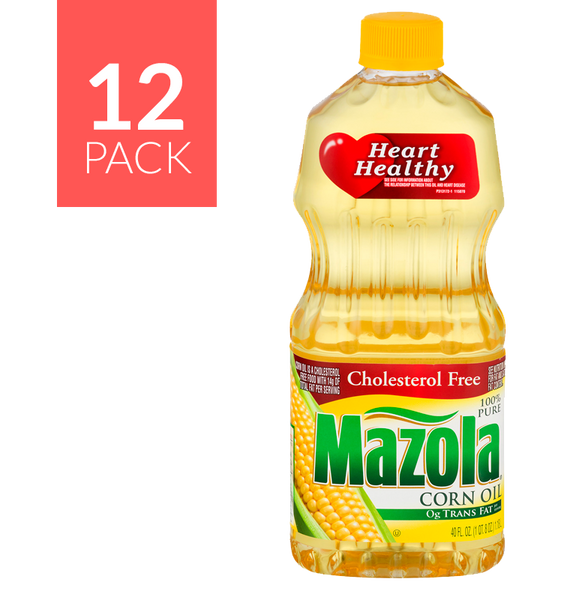 Mazola Corn Oil 12/40oz