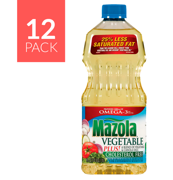 Mazola Vegetable Oil 12 pack of 40oz